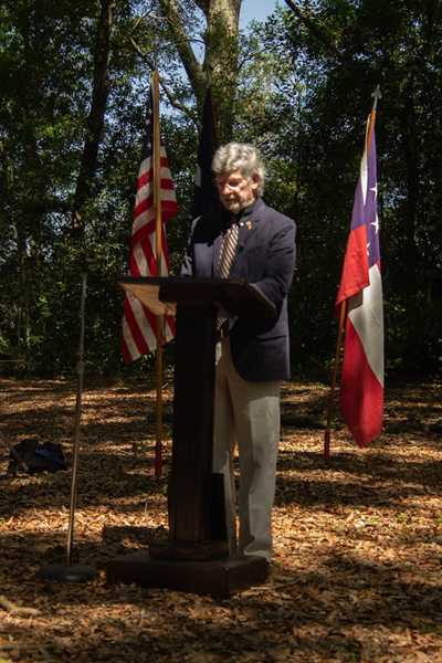 Gene Kizer Jr - Battle of Secessionville Address June 15 2019 on the battle site