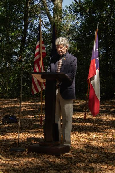 Gene Kizer Jr - Battle of Secessionville Address June 15 2019 on the battle site
