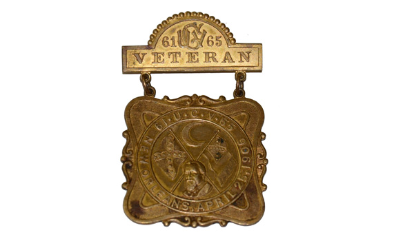 UCV Medal, Sixteenth Reunion, April 25-27, 1906, New Orleans.