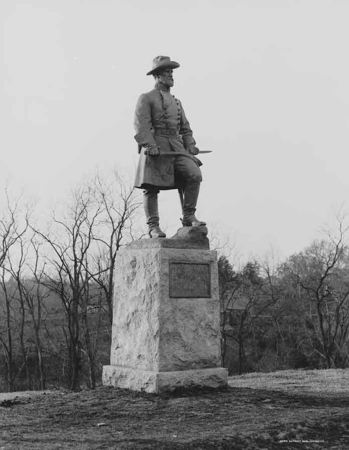 Vicksburg National Military Park, Gen. Stephen D. Lee, CSA. Lee was chairman of the park at one time.