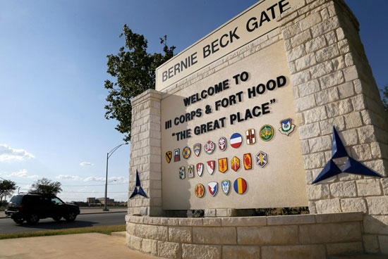 Fort Hood, near Killeen, Texas.