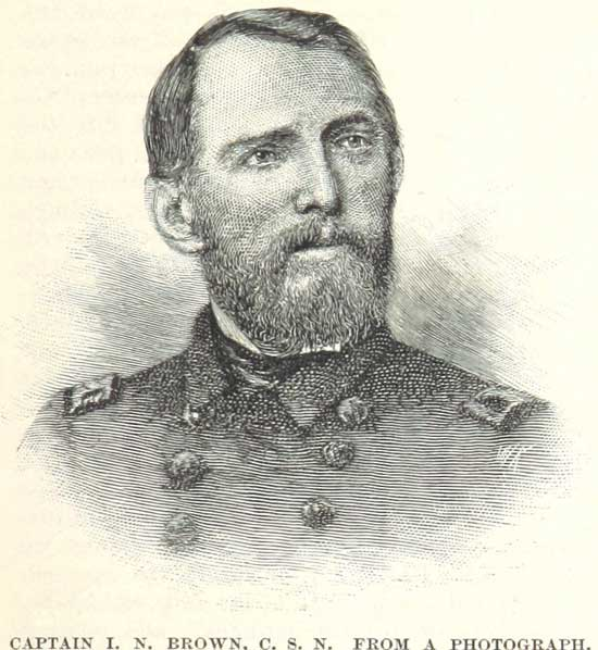 Capt. Isaac Newton Brown, C.S.N., Commander of the Confederate Ram CSS Arkansas.