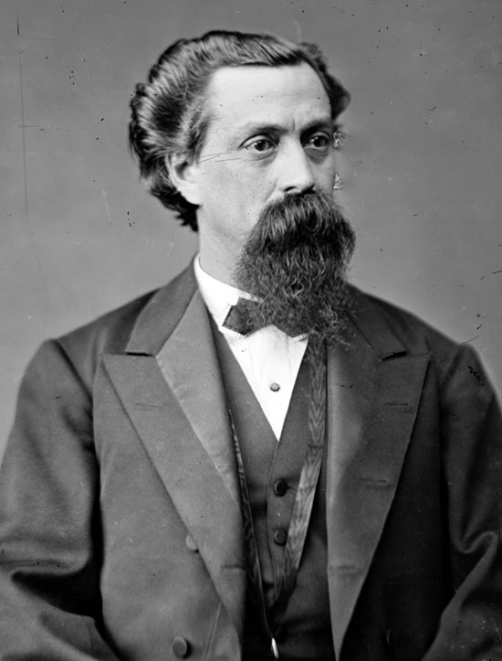 Christopher Columbus Bowen from R.I., CSA Coast Guard, Repub. 2-term US Rep., corrupt sheriff of Chas. County after 1872.