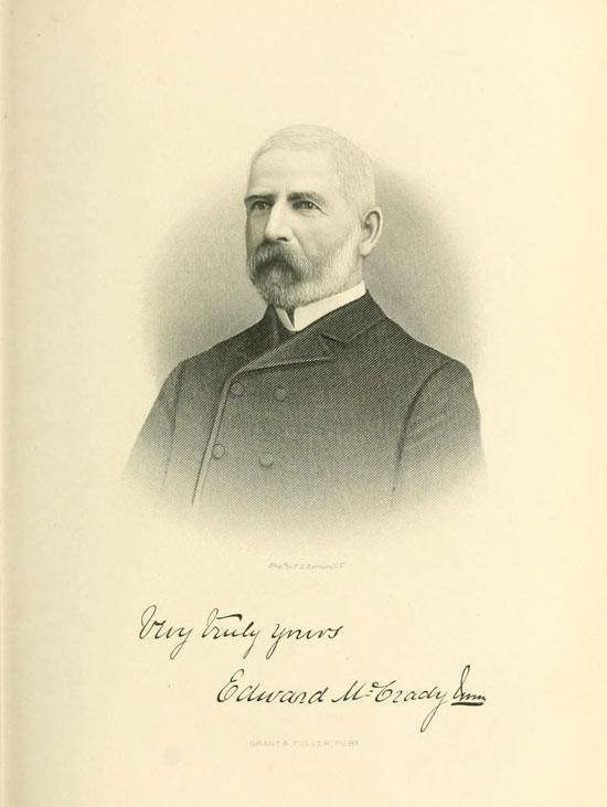 Lt. Col. Edward McCrady in 1876, later Gen. McCrady. In the war he served with Gregg's Regiment.