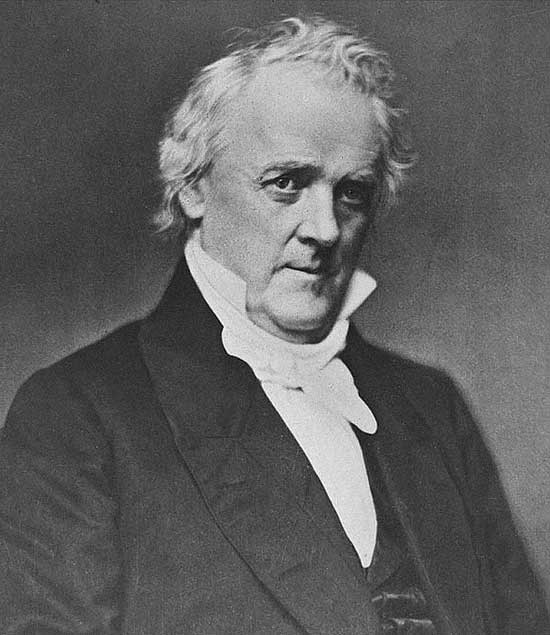 James Buchanan Jr., from Pennsylvania, served as the 15th president of the United States (1857–1861).