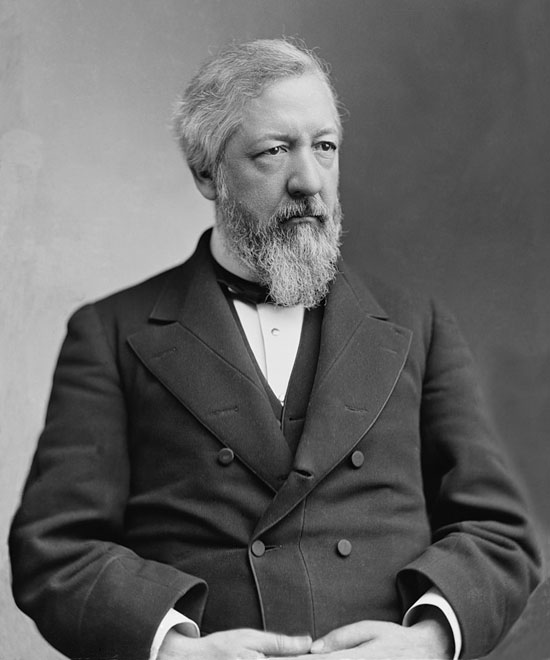 James G. Blaine, Republican from Maine, Spkr of House, Senator, Secty. of State twice, a charismatic speaker.