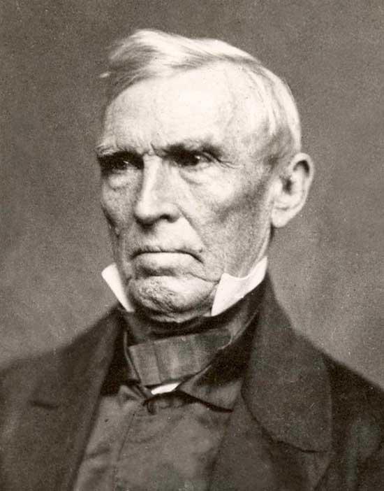 Sen. John Jordan Crittenden of Kentucky, 1855 portrait by Matthew Brady.