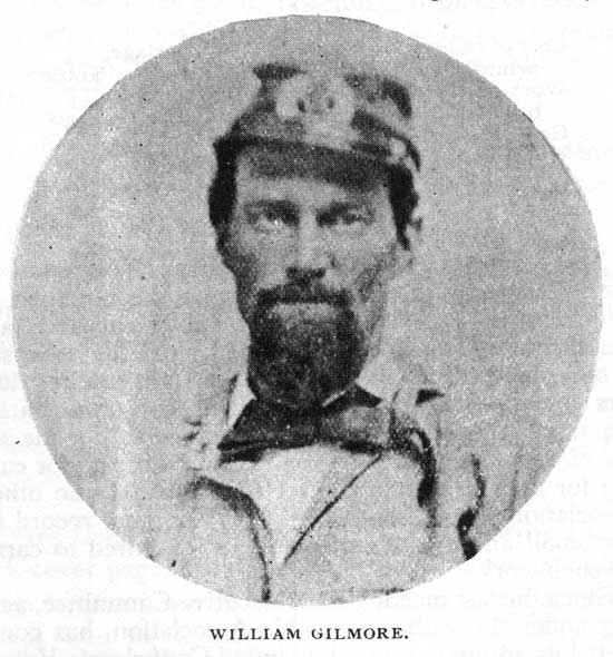 William Gilmore, pilot on the CSS Arkansas, killed July 15, 1862.