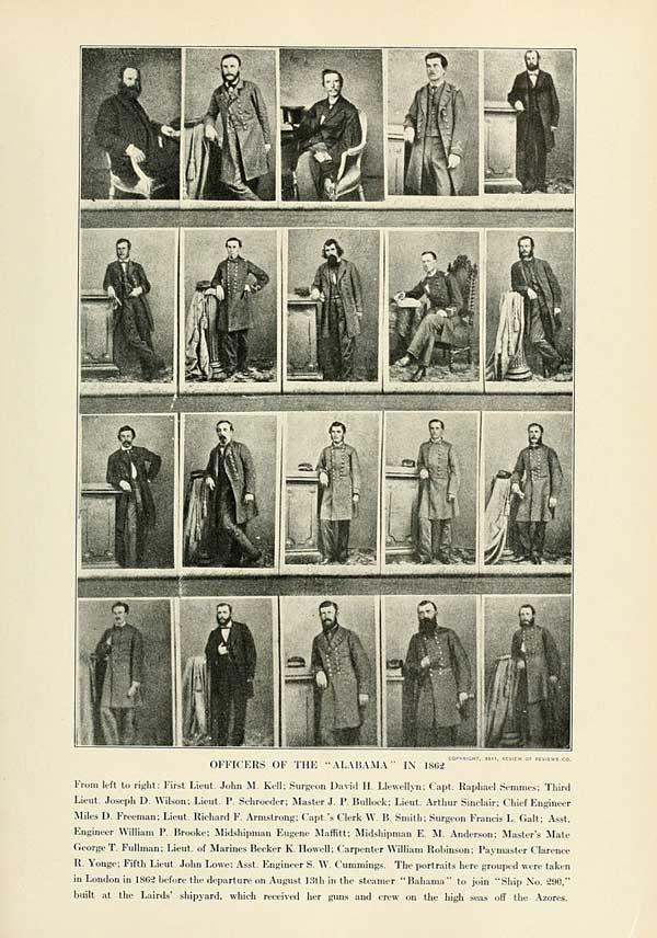 CSS Alabama officers.