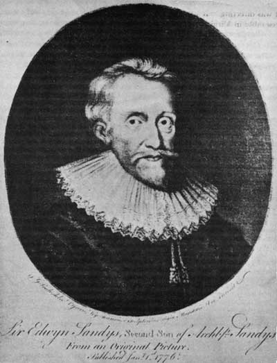 Sir Edwin Sandys, one of the founders of the Virginia Company.