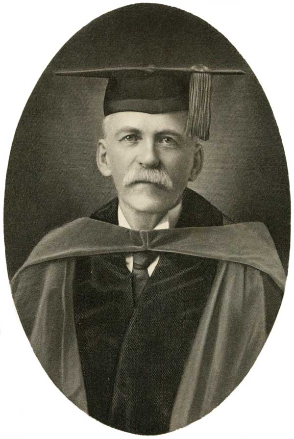 Dr. Lyon Gardiner Tyler, College of William and Mary, around 1915.
