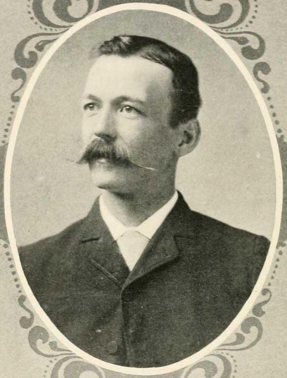 Lyon Gardiner Tyler as a young man.