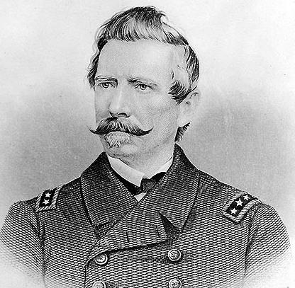 Admiral Raphael Semmes, commander of the legendary raider CSS Alabama.
