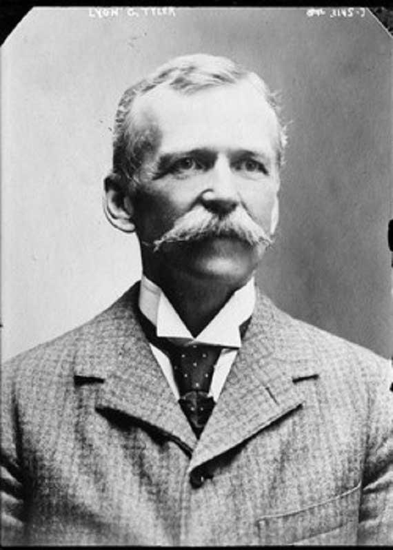 Lyon Gardiner Tyler around 1900.