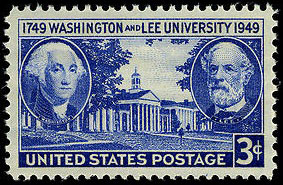 Washington and Lee University 200th anniversary on November 23, 1948.