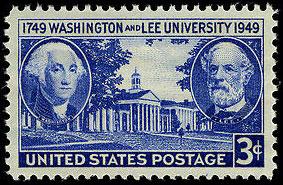 Washington and Lee University 200th anniversary on November 23, 1948.