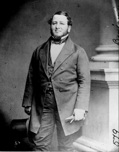 Judah Benjamin, circa the War Between the States.