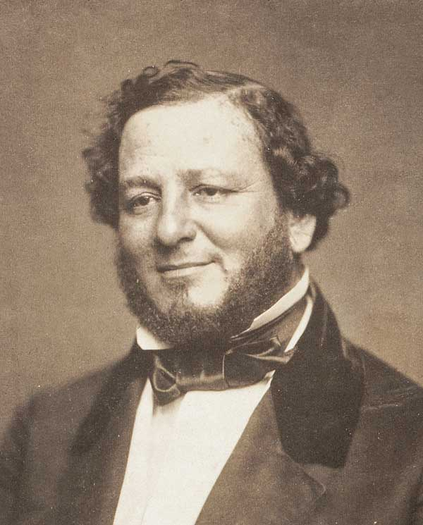 United States Senator Judah P. Benjamin of Louisiana, circa 1856.
