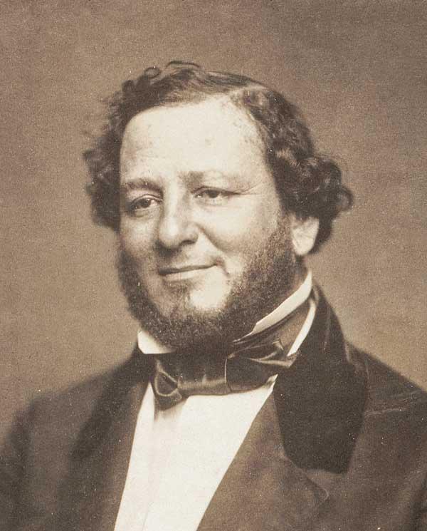 United States Senator Judah P. Benjamin of Louisiana, circa 1856.
