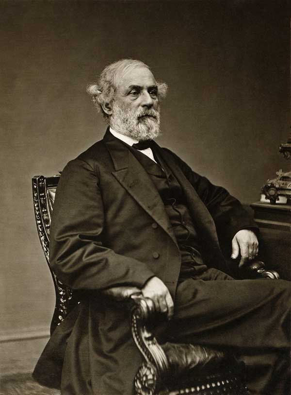General Robert E. Lee in May 1869, a year before his death.