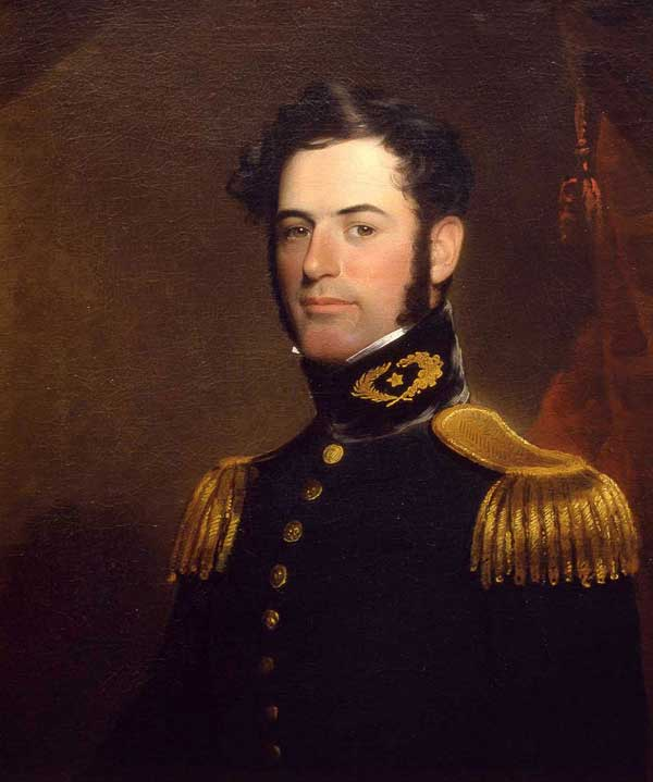 Lee at age 31 in 1838, as a Lieutenant of Engineers in the U.S. Army.
