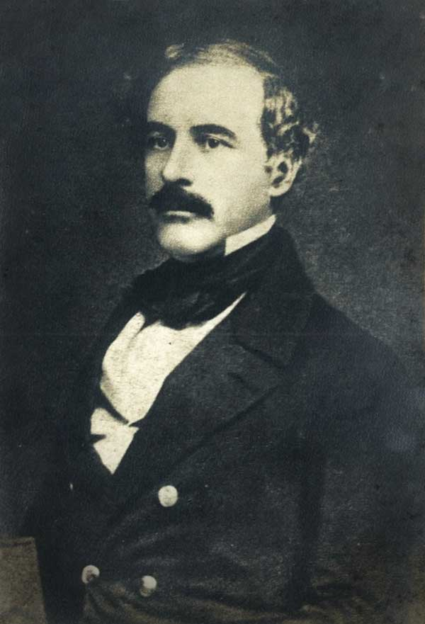 Lee around age 43, when he was a Brevet Lieutenant-Colonel of Engineers, c. 1850.