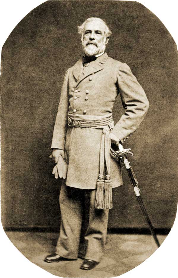 General Robert E. Lee during the War Between the States.
