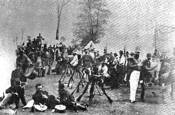 Morgan's 2nd KY Cav Regmt earlier in 1862, before Christmas Raid.