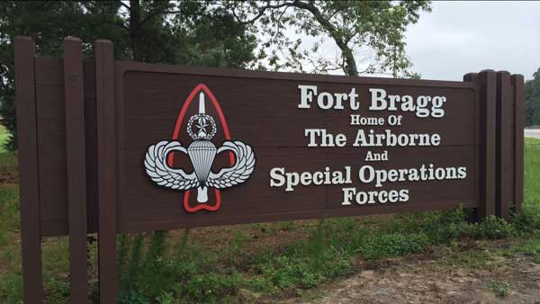 United States Army, Fort Bragg, Fayetteville, North Carolina.