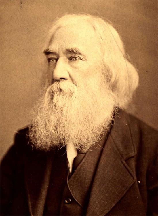 Lysander Spooner, author of No Treason., The Unconstitutionality of Slavery, and many other important works.