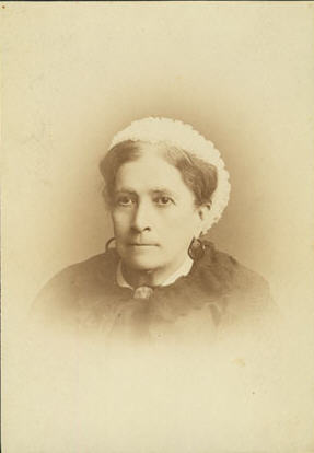 Juliet Ann Opie Hopkins, the Florence Nightingale of the South.