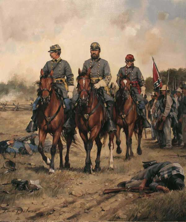General Jackson, painting by Augusto Ferrer-Dalmau.