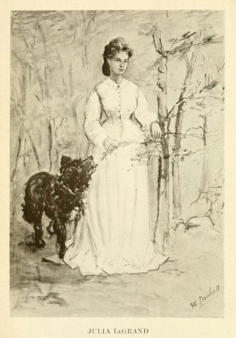 Julia LeGrand, from her book, The Journal of Julia LeGrand.