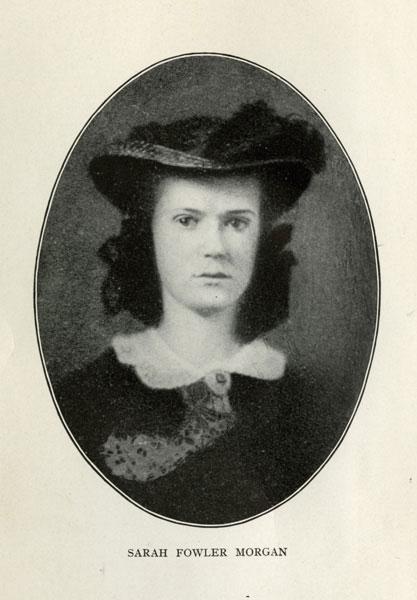 Sarah Fowler Morgan Dawson, author of A Confederate Girl's Diary.