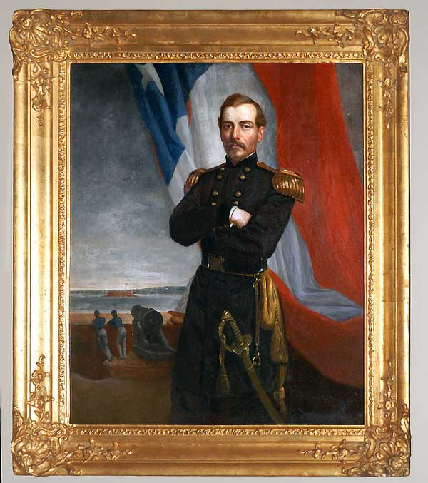 Healy portrait of Gen. Beauregard in the National Portrait Gallery, Washington.
