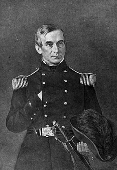 Maj. Robert Anderson, commander of Fort Sumter; Brig. Gen. from May 15, 1861.