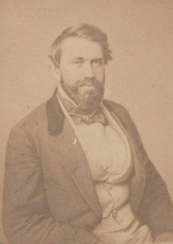 U.S. Senator from Texas, Louis Trezevant Wigfall, before the war.