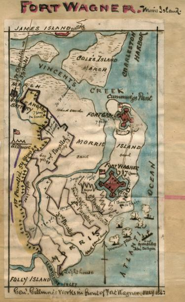 Fort Wagner Map 53K