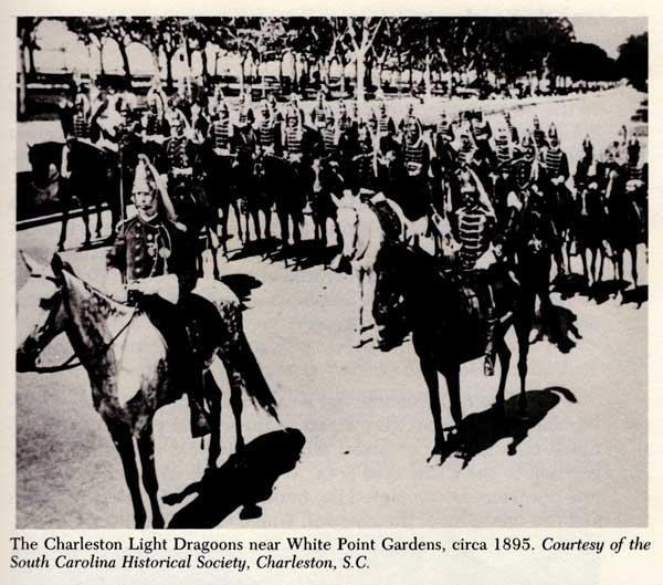 Charleston Light Dragoons, 1895 picture.